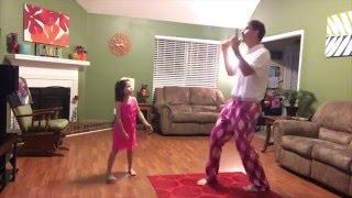 Минутка позитива на сайте - Танец отца и дочери на песню Джастина Тимберлейка покорил пользователей сети