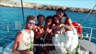 Weekend Pasqua in barca a vela alle Egadi