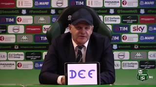 Sassuolo, mister Iachini alla vigilia del match contro la Lazio
