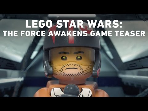 LEGO Star Wars The Force Awakens Video Game Announce Teaser