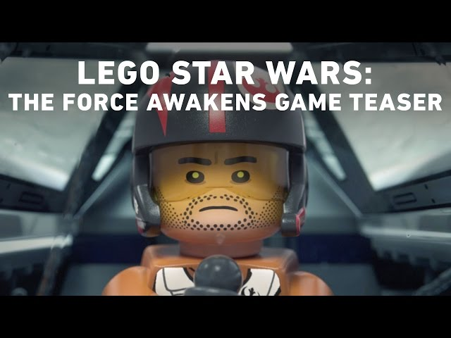 Видео к игре LEGO® STAR WARS™ The Force Awakens