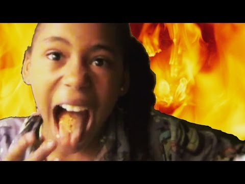 Little Girl eats hot pepper for $5 and learns lesson