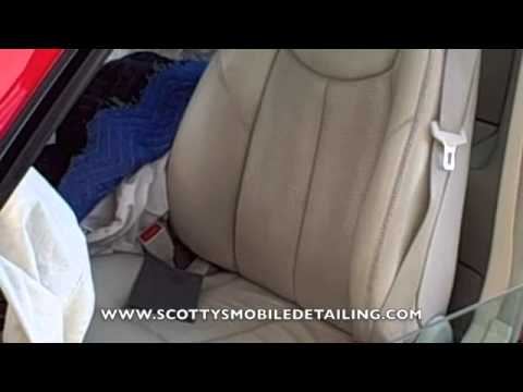 How to repair Leather seats