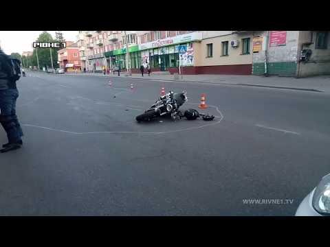 У Рівному 16-літню дівчину на пішохідному переході збив мотоцикліст [ВІДЕО]