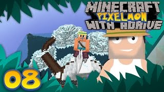 Minecraft PIXELMON with aDrive! Ep08 Soaring on Skarmory - PocketPixels White Let's Play! by aDrive