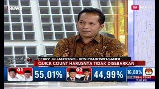 Video Komentari Penghitungan Suara, BPN Prabowo-Sandi: Real Count KPU Lambat - Special Report 22/04 MP3, 3GP, MP4, WEBM, AVI, FLV April 2019