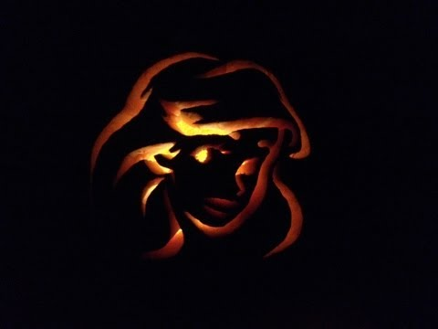 How To Carve A Pumpkin With Stencils For Halloween - Easy!