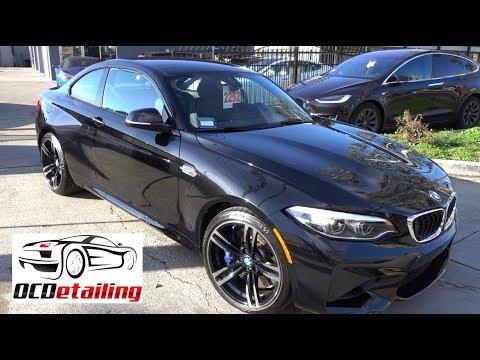 2018 BMW M2 - Black Sapphire Metallic - Opti-Coat Pro Plus Ceramic Coating
