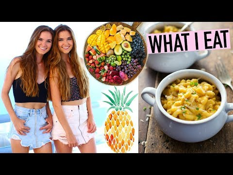 WHAT I EAT IN A DAY VEGAN  + Mac & Cheese Recipe!