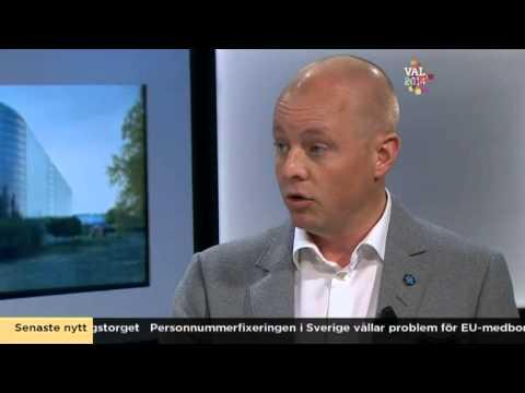 sd - Nyhetsmorgon i TV4 från 2014-05-23: Gustav Fridolin (Miljöpartiet) och Björn Söder (Sverigedemokraterna) debatterar om vad Sverige ska anta för åtgärder för ...