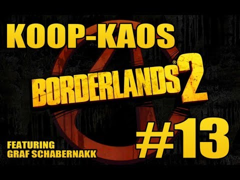 Borderlands 2 #13: FURY IN THE SLAUGHTERHOUSE - Koop-Kaos HD 720p