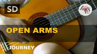 Video Open Arms - Journey (solo guitar cover) MP3, 3GP, MP4, WEBM, AVI, FLV Juni 2018