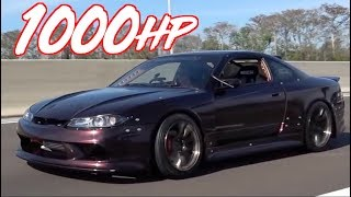 Adam LZ's 1000HP Sequential Nissan S15 - 3.4L 2JZ Swap by  That Racing Channel