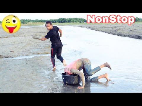 Must Watch Funny 😂😂 Comedy Video 2020 Non stop part-6 || Bindas fun bd ||