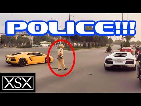 Phản Ứng Của CSGT Khi Thấy Cường Đô La Cùng Bộ Đôi Lamborghini | XSX - Thời lượng: 1:06.