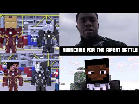 Video Captain America Civil War final battle Minecraft Side by Side comparation download in MP3, 3GP, MP4, WEBM, AVI, FLV January 2017