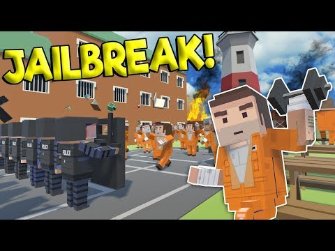 JAILBREAK & PRISON RIOT IN THE CITY! - Tiny Town VR Gameplay - Oculus VR Game