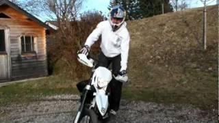 8. Chris Pfeiffer. Playing with my Husqvarna TE 449 Enduro in my backyard