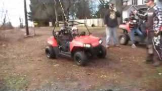 4. 2010 polaris 170 and 800 RZR first ride