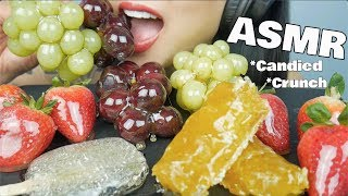 ASMR CANDIED FRUITS *Tanghulu HONEYCOMB + ALOE VERA (CRACKLING EATING SOUNDS) No Talking | SAS-ASMR