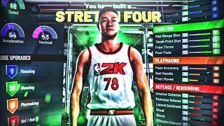 I FOUND THE BEST STRETCH BIG BUILD ON NBA 2K20!! DEMIGOD BUILD CANT BE STOPPED!! BEST CENTER BUILD!