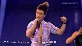 Video Top 10 Craziest/Weirdest Eurovision Songs (2002-2014) MP3, 3GP, MP4, WEBM, AVI, FLV Juni 2018