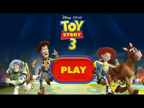 Toy Story 3: Toys Daycare Dash (Saving Buzz Lightyear, Hamm and Slinky)