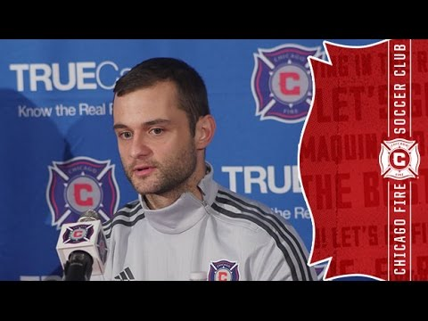 Video: Chicago Fire introduce new midfielder Shaun Malone