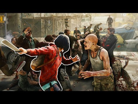 HUGE ZOMBIE HORDE SURVIVAL! - World War Z Gameplay - New York Zombie Apocalypse Survival