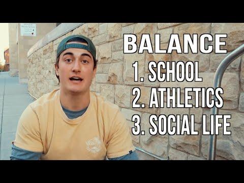 College Student-Athlete: Balance Life