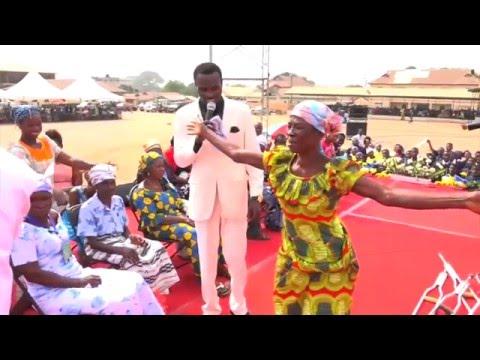 Prophet Dr. Owuor - Ghana Revival - Chronic Pain & Paralysis Healed
