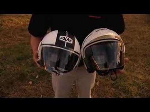 Full or open Face Helmets