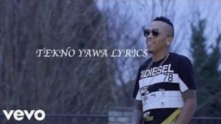 Video Tekno Yawa Full Lyrics MP3, 3GP, MP4, WEBM, AVI, FLV Mei 2018