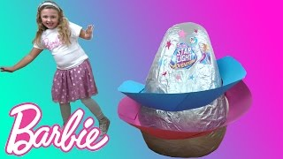 Nonton Barbie SUPER GIANT EGG SURPRISE | Barbie Star Light Adventure Movie Toys | The Disney Toy Collector Film Subtitle Indonesia Streaming Movie Download