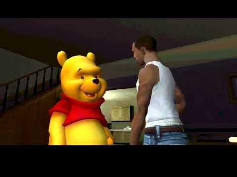 Winnie the Pooh in GTA San Andreas