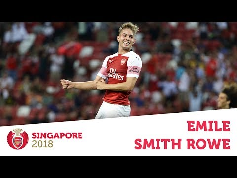 Compilation: Emile Smith Rowe | ICC 2018: Arsenal V Atletico Madrid | #AFCTour2018