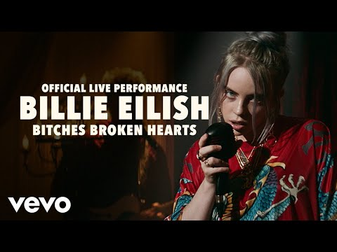 Billie Eilish - bitches broken hearts (Official Live Performance) | Vevo LIFT