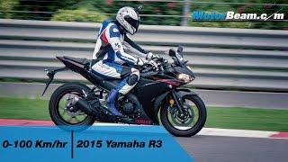 7. Yamaha R3 0-100 km/hr & Acceleration Test | MotorBeam
