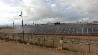 Hatzeva Israel  city photos : Solar panels Farm in Hatzeva Arava Desert Israel
