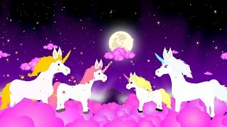Keluarga jari   Kuda-kuda   Lagu Anak TV   Unicorn Finger Family in Bahasa Indonesia Video