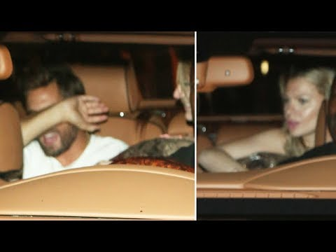 Party Animal Scott Disick Leaves 1OAK With Bella Thorne And Her Girlfriend