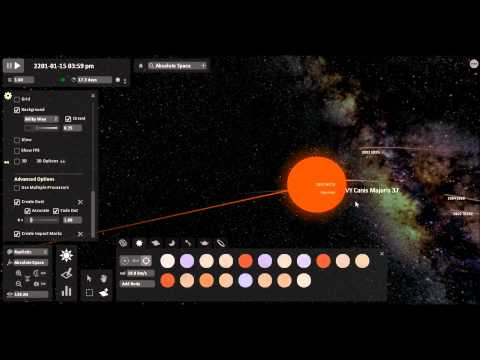 VY Canis Major - Simulation of what might happen if VY Canis Majoris had a collision course with the Sun VY Canis Majoris is the one of the largest known star's that we have ...