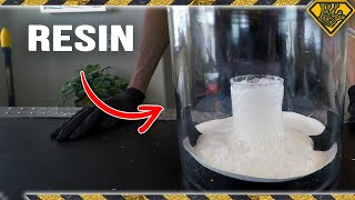 Fast Resin in a Vacuum Chamber