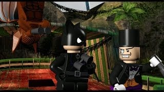 LEGO Batman 100% Guide - Villains Episode 2-5 - Arctic World - (All Minikits/Red Brick/Hostage)