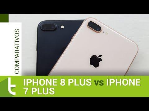 Apple iPhone 8 Plus vs iPhone 7 Plus  Comparativo do TudoCelular
