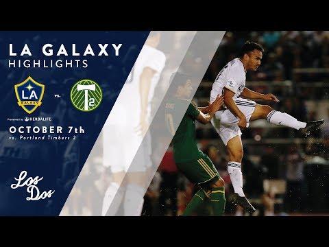 Video: HIGHLIGHTS: LA Galaxy II vs. Portland Timbers 2 | October 10, 2017
