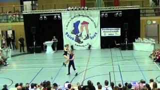 Chantal Roos & Pascal Roos - Nordbayerische Meisterschaft 2014