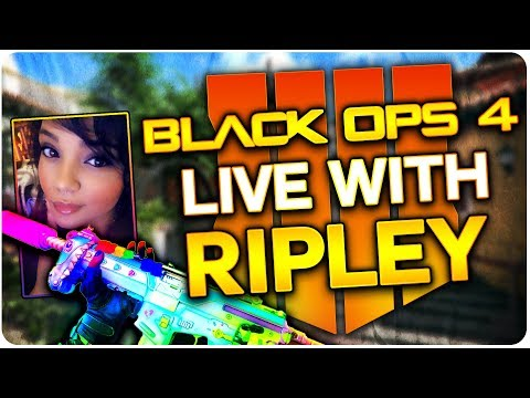Black Ops 4 With Ripley // Live Multiplayer Gameplay // Grinding Tiers & Camos // #PIZZAGANG