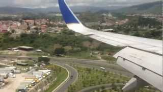 Tegucigalpa Honduras  city images : Tegucigalpa, Honduras Airport Toncontin Landing