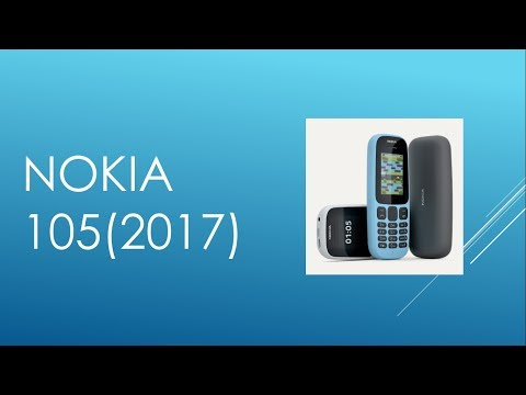 NOKIA 105(2017) First Look,  Full Specifications,Price and Launch Date